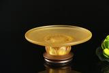 琉璃铜底宝相果碟