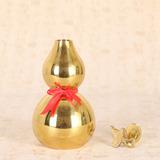 纯铜葫芦 家居风水摆件 铜葫芦