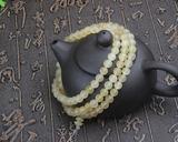 天然西藏高山羊角圆珠108颗佛珠手链