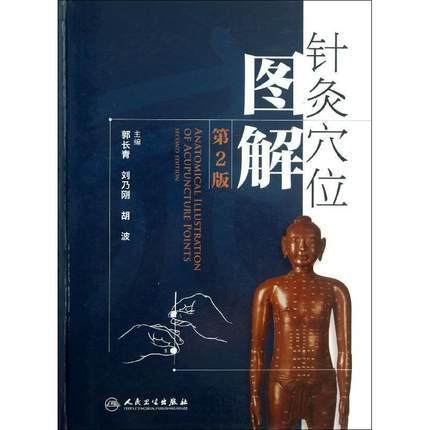 针灸穴位图解(第2版) 郭长青