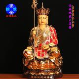 台湾盛凡 鎏金铜像 佛像 地藏王菩萨 地藏王
